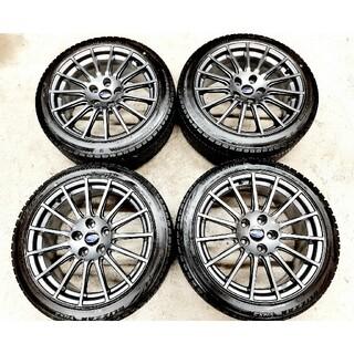 スバル(スバル)の【ほぼ新品】スバル WRX STI 純正OP ホイール VRX2 スタッドレス(タイヤ・ホイールセット)