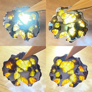 キングオブ隕石 イエローゴールド イミラックパラサイト隕石 最強御利益セット付き