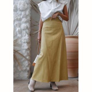 ルームサンマルロクコンテンポラリー(room306 CONTEMPORARY)のroom306 レザースカート (ロングスカート)
