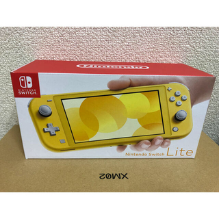 Nintendo Switch - 任天堂スイッチライト イエロー 新品未開封