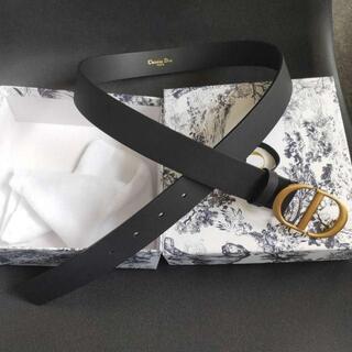 Christian Dior - ◆Dior ディオール◆カーフスキンサドルベルト3cm幅
