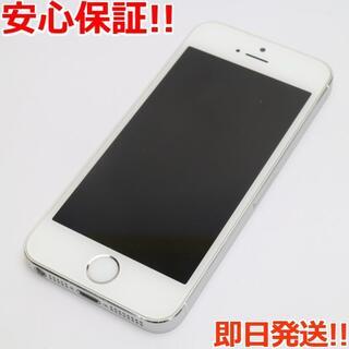 アイフォーン(iPhone)の美品 Y!mobile iPhone5s 16GB シルバー (スマートフォン本体)