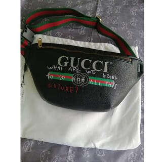 Gucci - 未使用品、本日限定セール!大人気!GUCCI★ウエストポーチ★/黒」