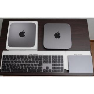 Apple - キーボード、トラックパッド付MacMini 2018 8GB 128GB