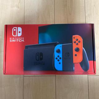 Nintendo Switch - Switch本体 任天堂スイッチ本体 ネオン【新品店舗印なし】