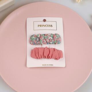 ヘアクリップ (pink)
