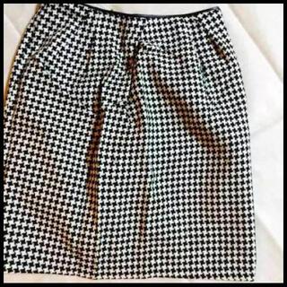 ミッシュマッシュ(MISCH MASCH)のミッシュマッシュ スカート レディース S チドリ柄 オシャレ かわいい(ミニスカート)