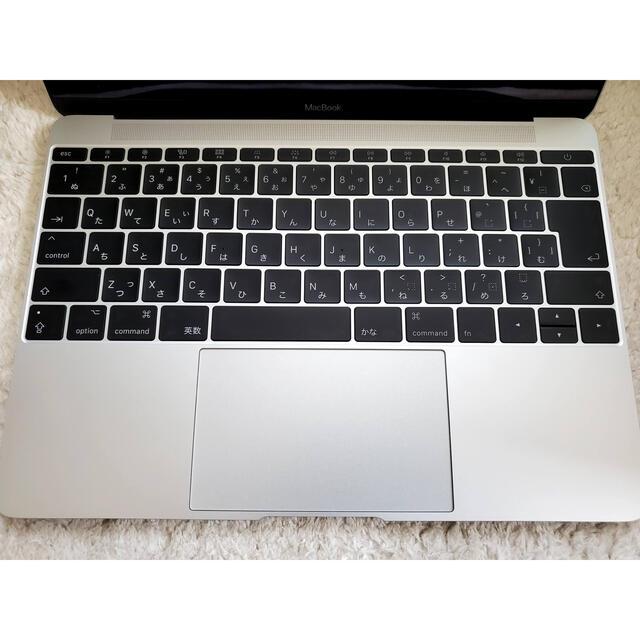 Mac (Apple)(マック)の【美品】Macbook12インチ Core m3 256GB シルバー スマホ/家電/カメラのPC/タブレット(ノートPC)の商品写真