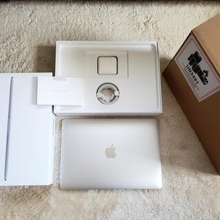 Mac (Apple) - 【美品】Macbook12インチ Core m3 256GB シルバー