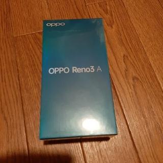 OPPO Reno3A(ymobile版)