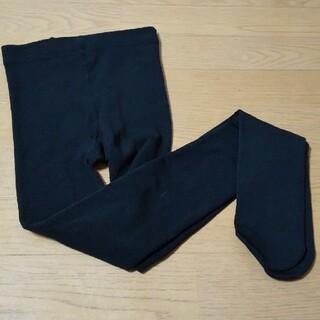 チュチュアンナ(tutuanna)のLLサイズ  厚手ブラックタイツ(タイツ/ストッキング)