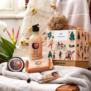 THE BODY SHOP - 《未使用新品》THE BODY SHOP シア バス&ボディギフト