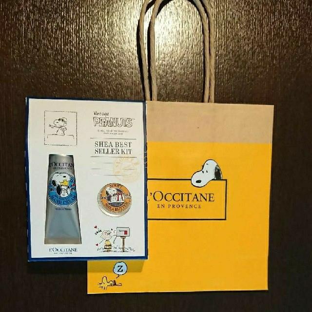 L'OCCITANE(ロクシタン)のロクシタン スヌーピー シアベストセラーキット コスメ/美容のボディケア(ハンドクリーム)の商品写真