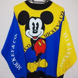 ディズニー(Disney)の激レア★90s Mickey&Co. トレーナー ミッキーマウス スウェット(スウェット)