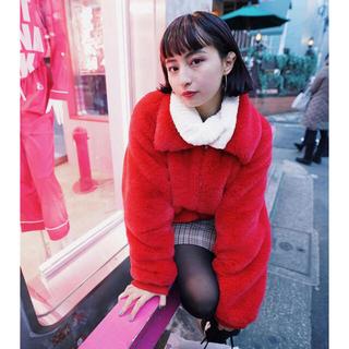ザラ(ZARA)の【韓国ファッション】ZARA フェイクファージャケット(ダウンジャケット)