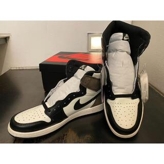 "NIKE - NIKE AJ1 RETRO HIGH OG ""DARK MOCHA"" 28cm"