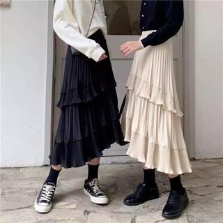snidel - 韓国ファッション フリルスカート プリーツスカート