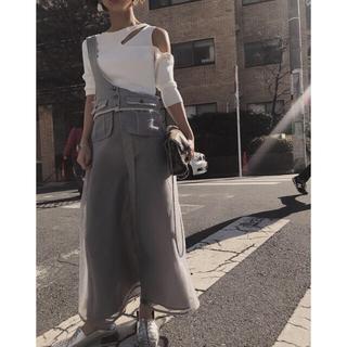Ameri VINTAGE - 【 AMERI 】定価2万2000円 ワンショルダー セットアップスカート