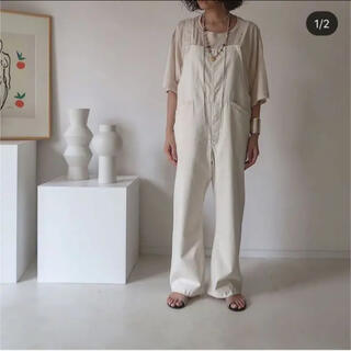 argue  VINTAGE TWILL COTTON OVERALL