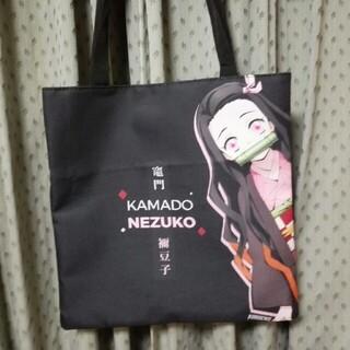 鬼滅の刃  トートバッグ NEZUKO チャーム付き 新品未使用品(キャラクターグッズ)