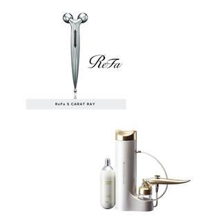 リファ(ReFa)のプロージョン炭酸ミストユニット+リファSカラットレイ(フェイスケア/美顔器)