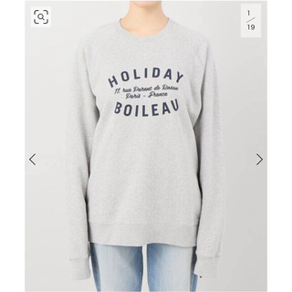 L'Appartement DEUXIEME CLASSE - L'Appartement  HOLIDAY SWEAT グレーSIZE 36
