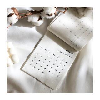ファブリックカレンダー 韓国インテリア