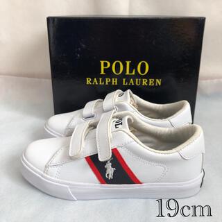 POLO RALPH LAUREN - ポロラルフローレン  スニーカー キッズ 19cm