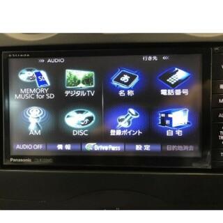 パナソニック ストラーダ CN-R330WD フルセグ DVD Bluetoo