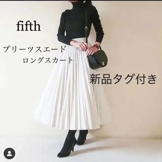 fifth - fifth プリーツスエードロングスカート