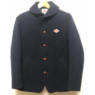 ダントン(DANTON)のDANTON  ダントン 胸ロゴ Pコート ネイビー サイズ40(ピーコート)