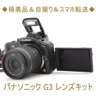 Panasonic - ◆極美品&自撮り&スマホ転送◆パナソニック G3 レンズキット