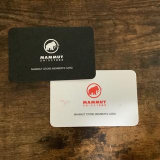 マムート(Mammut)のMAMMUT ポイントカード(ダウンジャケット)