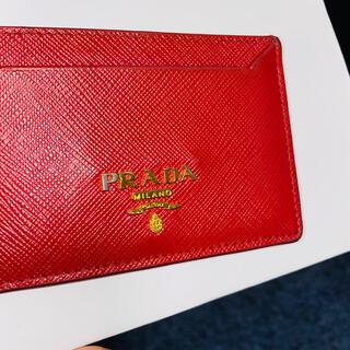 プラダ(PRADA)のPRADAカードケース(名刺入れ/定期入れ)