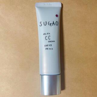 ロートセイヤク(ロート製薬)のSUGAO エアーフィットCCクリーム ピュアナチュラル 25g 匿名配送(CCクリーム)