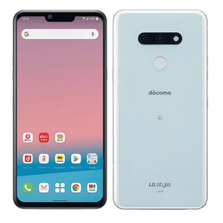 LG Electronics - LG  style3  L-41A  ホワイト SIMフリー 美品