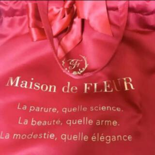 メゾンドフルール(Maison de FLEUR)のバッグ レッド(トートバッグ)