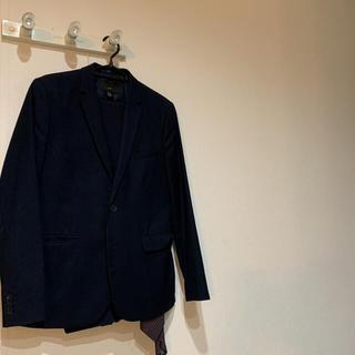 エイチアンドエム(H&M)のH&M テーラードジャケット スラックス ネイビー セットアップ(セットアップ)