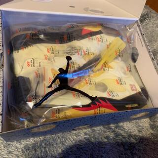 ナイキ(NIKE)のナイキ エアジョーダン5 オフホワイト セイル 26cm SAIL(スニーカー)