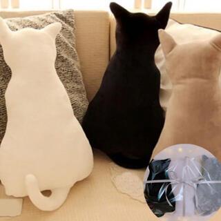 癒し猫クッション3体セット クリスマスプレゼント クッション 海外インポート