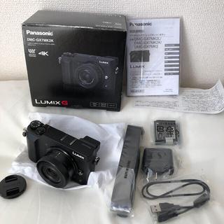 Panasonic - ①Panasonic LUMIX DMC-GX7MK2K-K  保証書付