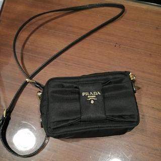 PRADA - (美品)PRADA リボンショルダーバッグ