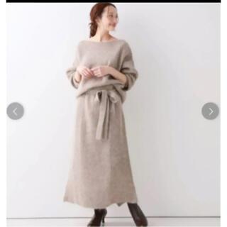 IENA SLOBE - 新品タグ付 スローブイエナ アルパカ混ニットスカート