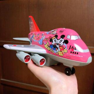 ディズニー(Disney)のJAL 50th ドリームエクスプレス ディズニー プルバックカー 飛行機(模型/プラモデル)