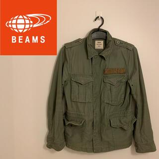 ビームス(BEAMS)のBEAMS ミリタリージャケット S (ミリタリージャケット)