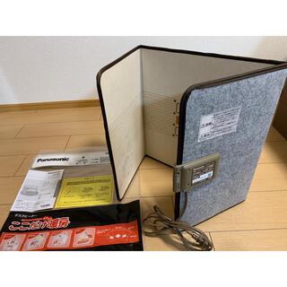 パナソニック(Panasonic)のPanasonic デスクヒーター ここだけ暖房 DC-PKD3-C(ベージュ)(電気ヒーター)