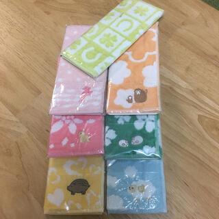 シャルレ(シャルレ)のシャルレ販促物 お年賀ミニタオル7枚セット(タオル/バス用品)