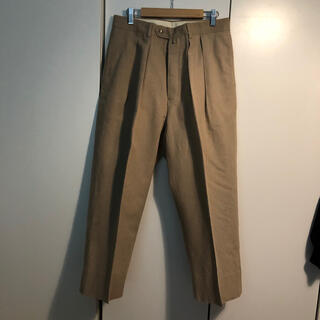 COMOLI - Neat ニート Vintage Cotton Linen / WIDE パンツ