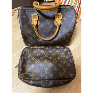 LOUIS VUITTON - ルイヴィトン スピーディ25&ポーチ