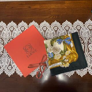 ロエベ(LOEWE)のLOEWE シルクスカーフ(バンダナ/スカーフ)